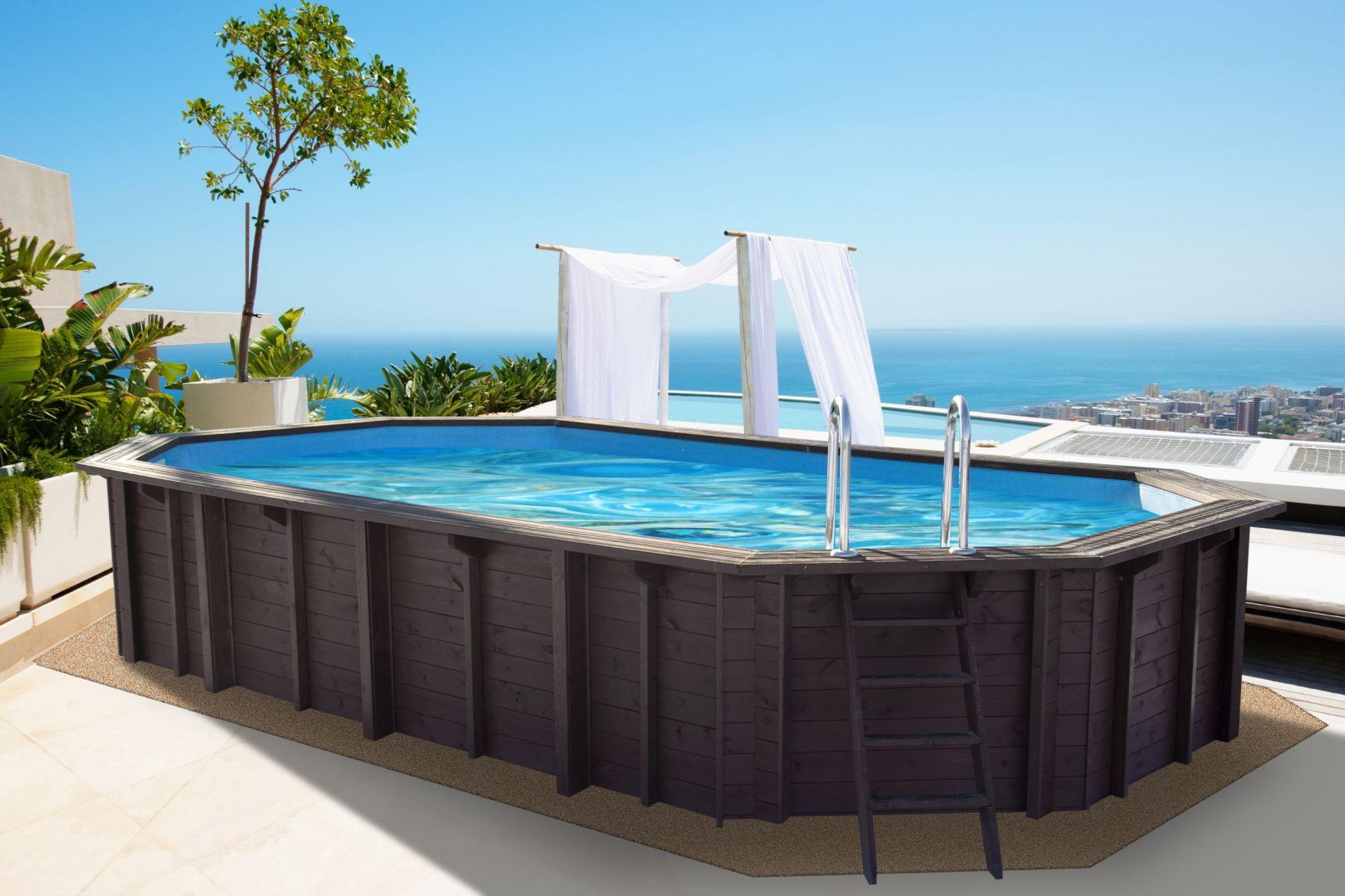 wooden swimming pools - strade garden